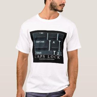 Kappen-Verschluss-T - Shirt