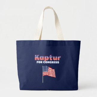 Kaptur für Kongress-patriotische amerikanische Fla Einkaufstasche
