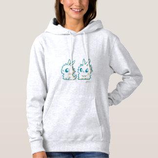 Kapuzepullover die kleinen Kaninchen Hoodie