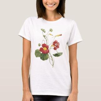Kapuzinerkäse (Tropaeolum majus) durch Redouté T-Shirt