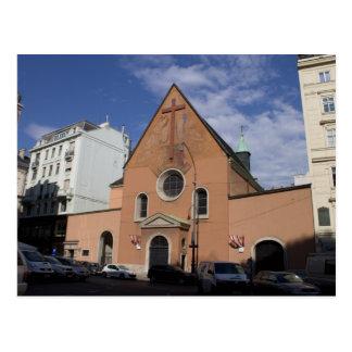 Kapuzinerkirche, Wien Österreich Postkarte