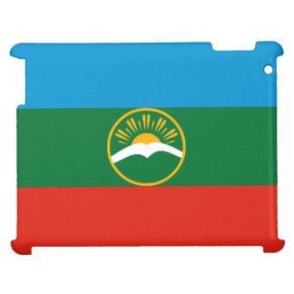 Karachay-Cherkessia Flagge iPad Hülle