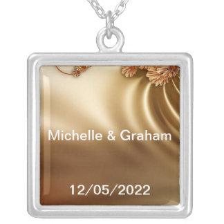 Karamell-Hochzeits-Set Halsketten