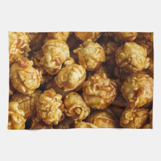 Karamell-Popcorn-Geschirrtuch Handtuch