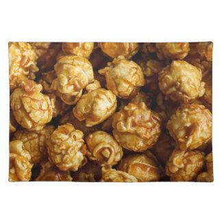 Karamell-Popcorn-Stoff-Tischset Tischset