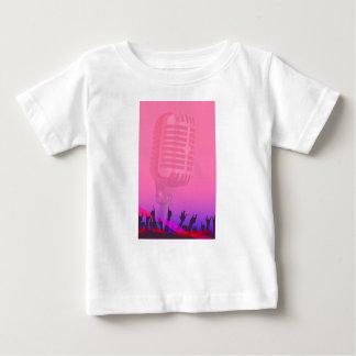 Karaoke-Nachtpublikums-Plakat Baby T-shirt