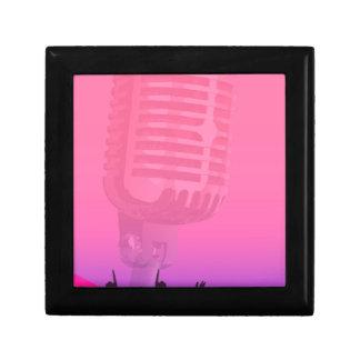Karaoke-Nachtpublikums-Plakat Erinnerungskiste