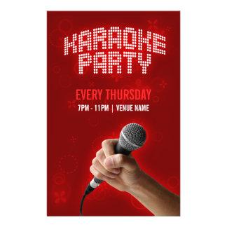 Karaoke-Party-Flyer 14 X 21,6 Cm Flyer