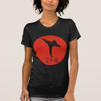 Karate-aufgehende Sonne T-Shirt