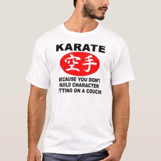 Karate-Charakter T-Shirt