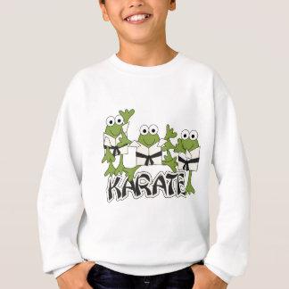 Karate-Frosch-T-Shirts und Geschenke Sweatshirt