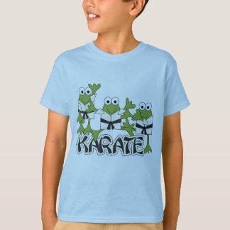 Karate-Frosch-T-Shirts und Geschenke T-Shirt