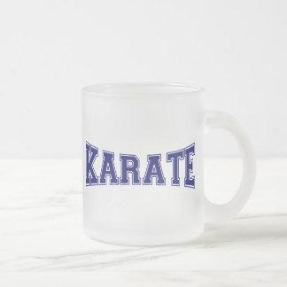 Karate-Hochschulart Mattglastasse