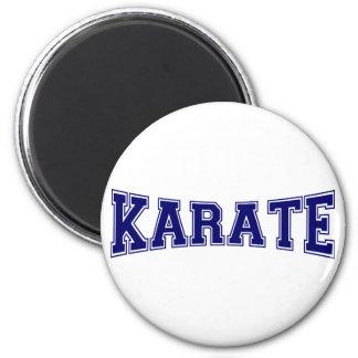 Karate-Hochschulart Runder Magnet 5,1 Cm