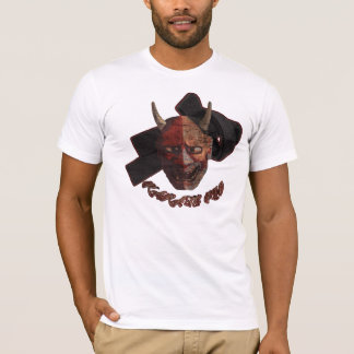 Karate Kid-Dämon-Masken-T-Stück - FF eingebrannt T-Shirt