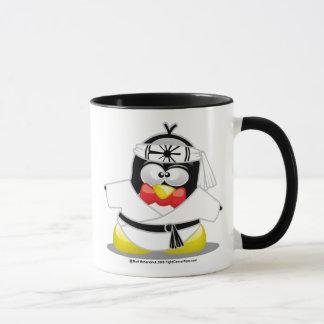 Karate-Pinguin Tasse
