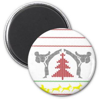 Karate Runder Magnet 5,7 Cm