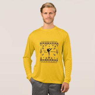 Karate/Taekwondo/Kriegskunst-Feiertags-Shirt T-Shirt