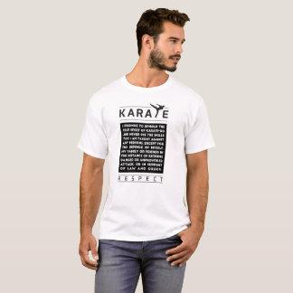 Karate - Versprechen - Respekt T-Shirt