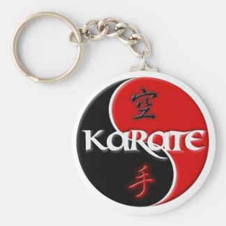 Karate Yin Yang Schlüsselkette Schlüsselband