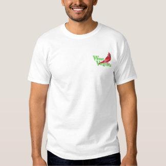 Kardinal Besticktes T-Shirt