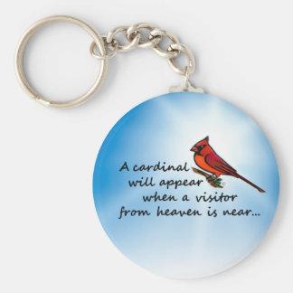 Kardinal, Besucher vom Himmel Schlüsselanhänger