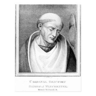 Kardinal Henry Beaufort, Bishop von Winchester Postkarte