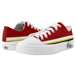 Kardinal mit weißem Gold und schwarzer Ordnung Niedrig-geschnittene Sneaker