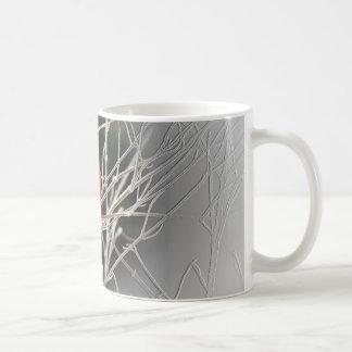 Kardinal zentriert - Vogel Kaffeetasse