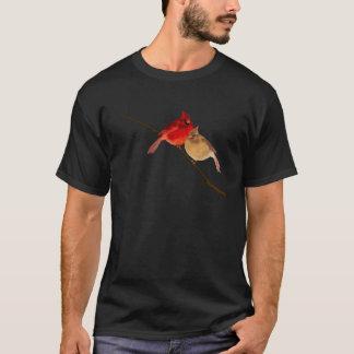 Kardinäle auf einer Niederlassung T-Shirt