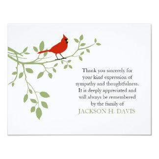 Kardinals-Begräbnis danken Ihnen Karte