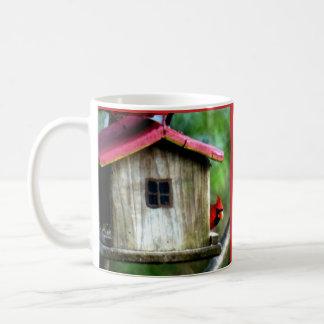 Kardinals-Blick heraus Kaffeetasse