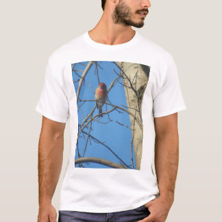 Kardinals-Frau/Vogel T-Shirt