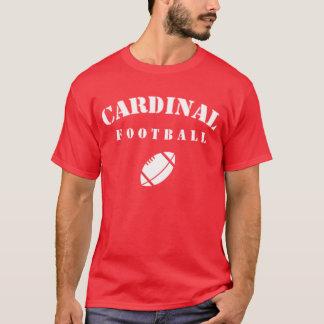 Kardinals-Fußball T-Shirt