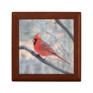 Kardinals-Nebenfluss-Profil-Holz-Geschenkboxen Schmuckschachtel