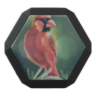 Kardinals-Vogel-Ölmalerei Schwarze Bluetooth Lautsprecher