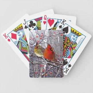 Kardinals-Wald Bicycle Spielkarten