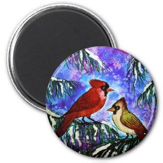 Kardinalsmagnet Runder Magnet 5,1 Cm