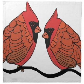 Kardinalsvogelliebhaber Serviette