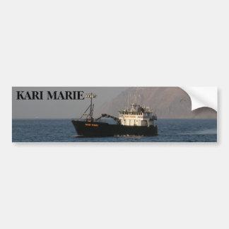 Kari Marie, Krabben-Boot im niederländischen Autoaufkleber