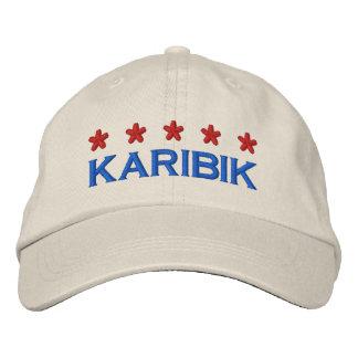 KARIBIK - 001 BESTICKTE BASEBALLCAPS