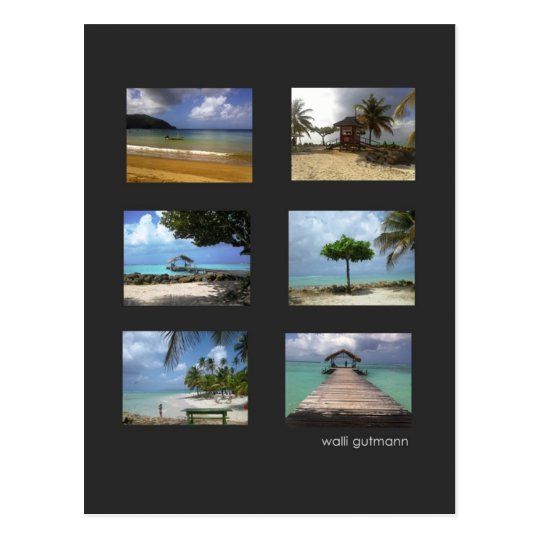 Karibiktraum Postkarte