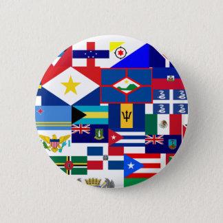 karibisch runder button 5,7 cm