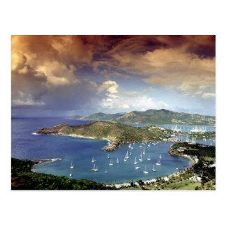 Karibische Meere, Antigua Postkarte