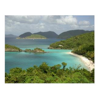 Karibische Meere, die US-Jungferninseln, Johannes, Postkarte