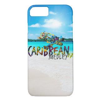 Karibischer Gemisch-Telefon-Kasten iPhone 8/7 Hülle
