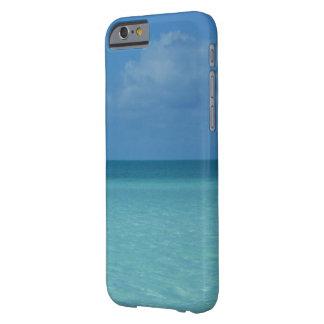 Karibischer Horizont-tropisches Türkis-Blau Barely There iPhone 6 Hülle
