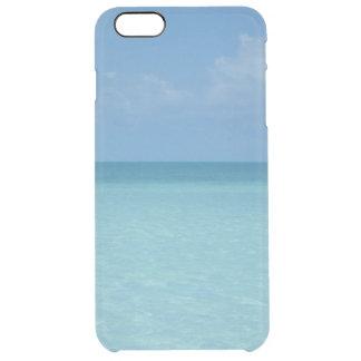 Karibischer Horizont-tropisches Türkis-Blau Durchsichtige iPhone 6 Plus Hülle