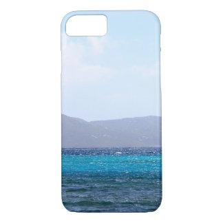 Karibisches Blau iPhone 8/7 Hülle