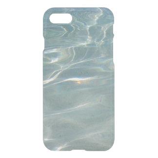 Karibisches Wasser-abstrakte blaue Natur iPhone 8/7 Hülle